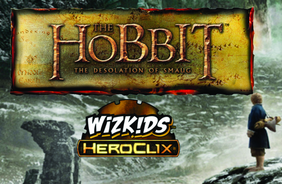 HOBBIT DESOLATION OF SMAUG HEROCLIX 24 CT GRAVITY FEED
