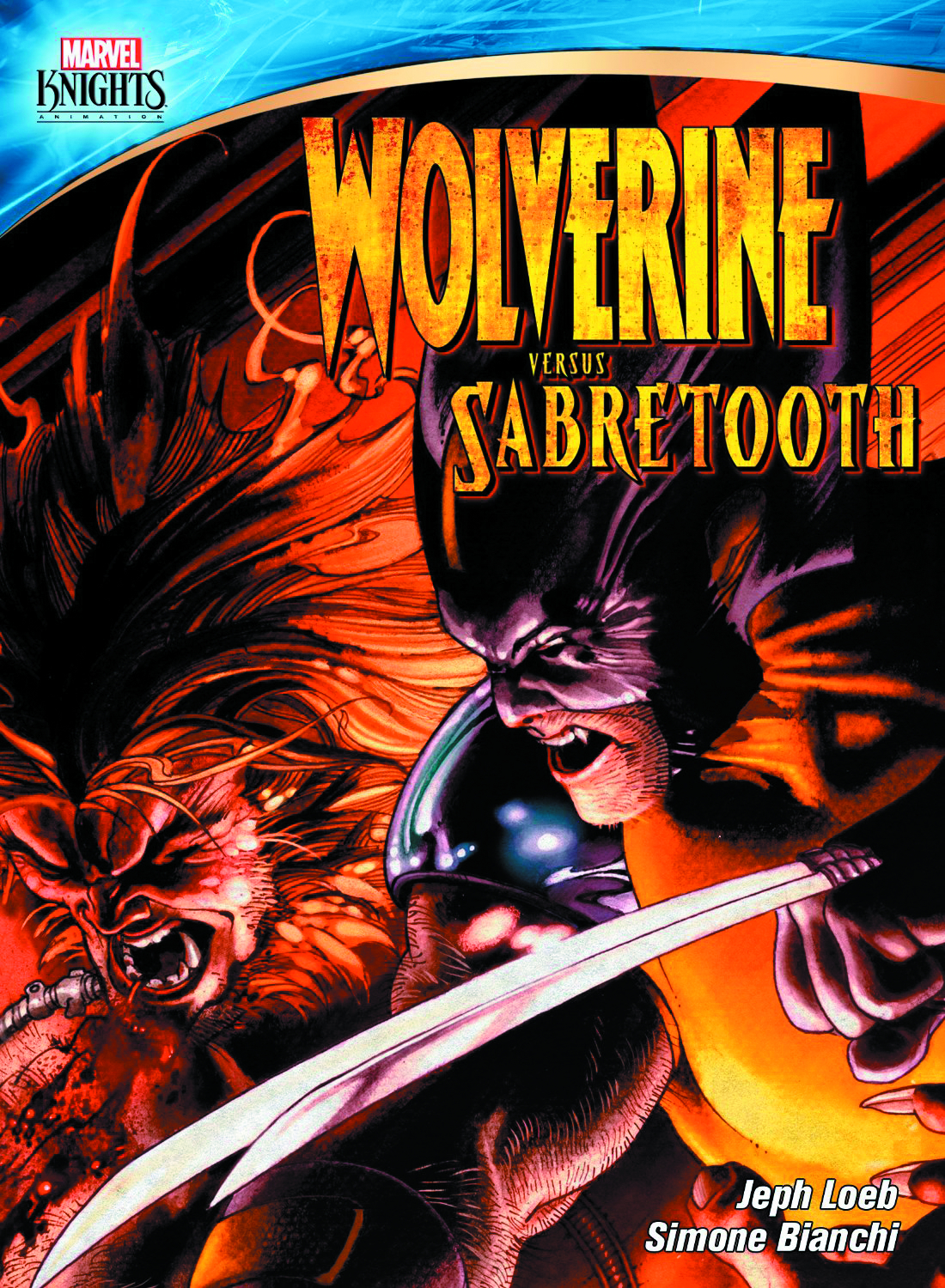 MARVEL KNIGHTS WOLVERINE VS SABRETOOTH DVD