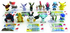 POKEMON BATTLING PACKS 2PK MINI FIG 8PC ASST