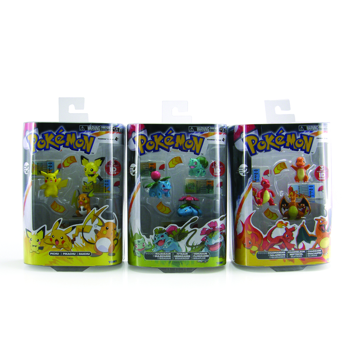 POKEMON EVOLUTION 3PK MINI FIG 4PC ASST