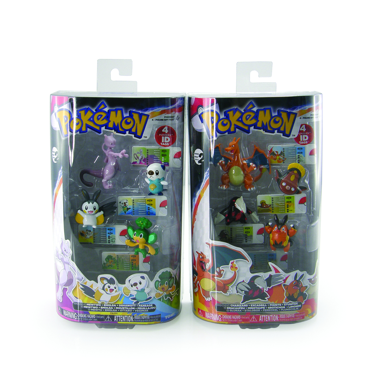 POKEMON GIFT PACK 4PK MINI FIG 4PC ASST