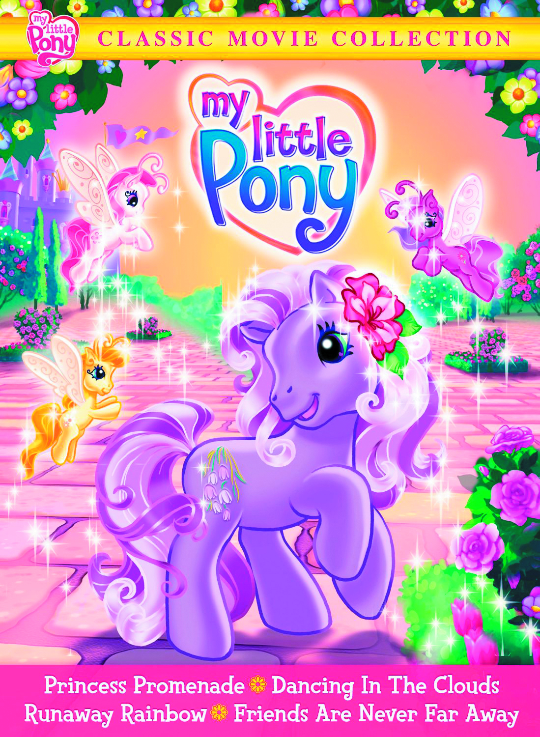 MY LITTLE PONY CLASSIC MOVIE COLL DVD