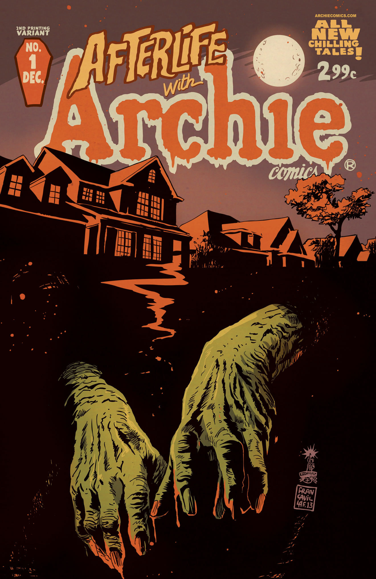 AFTERLIFE WITH ARCHIE #1 2ND PTG