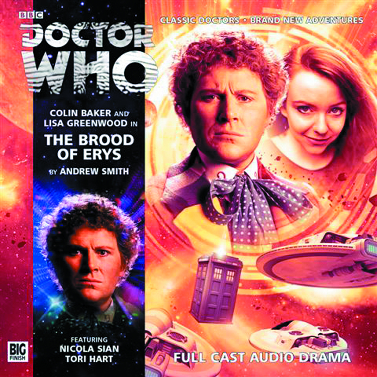 DOCTOR WHO BROOD OF ERYS AUDIO CD