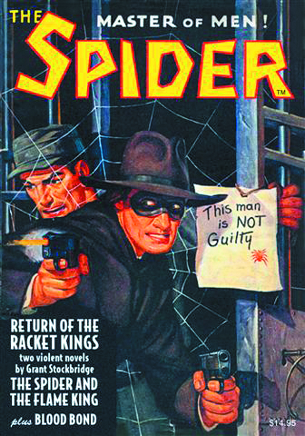 SPIDER DOUBLE NOVEL #3
