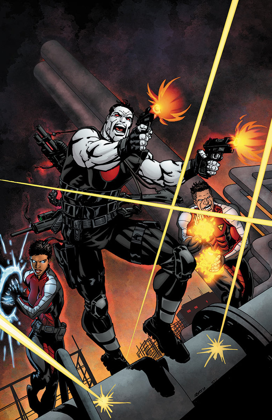 BLOODSHOT & HARD CORPS #19 ORDERALL SEARS