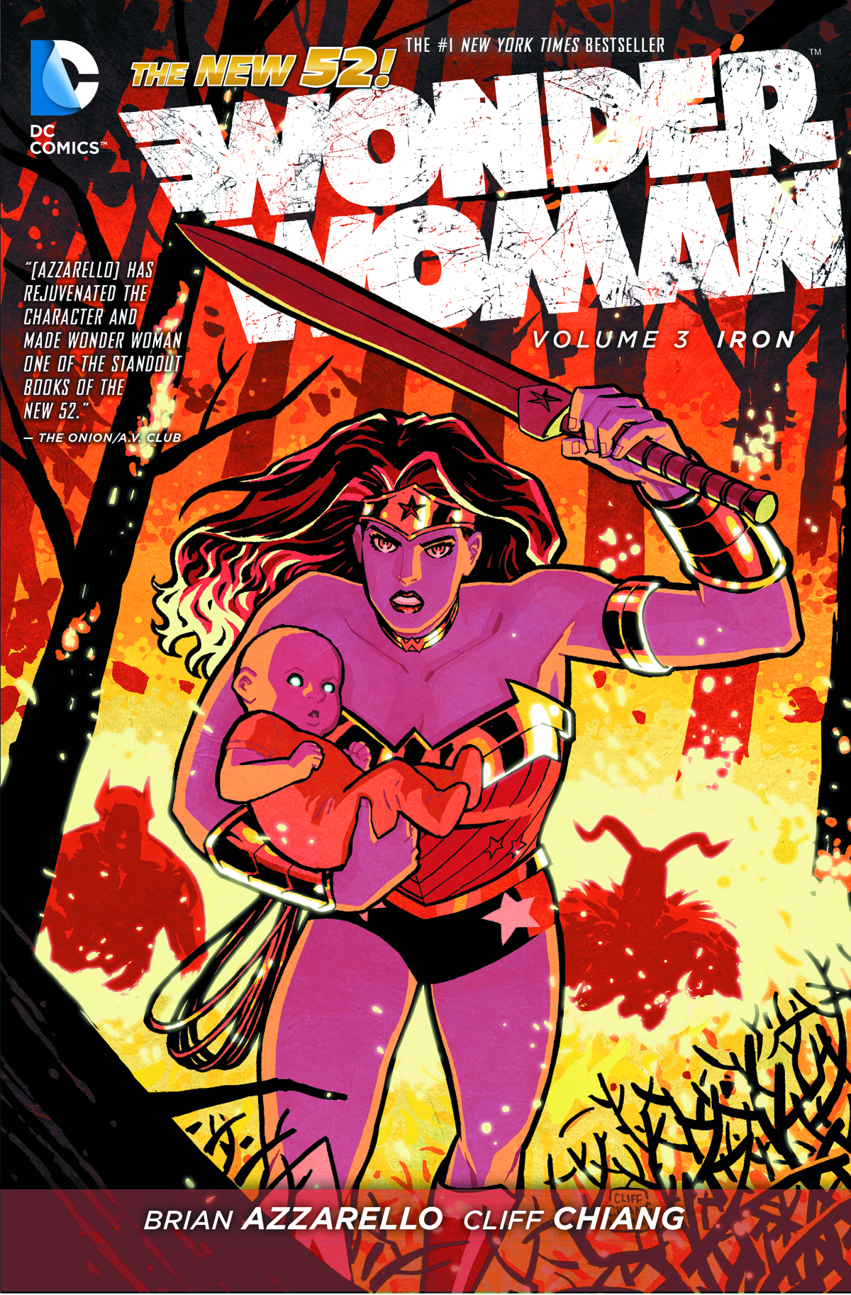WONDER WOMAN TP VOL 03 IRON