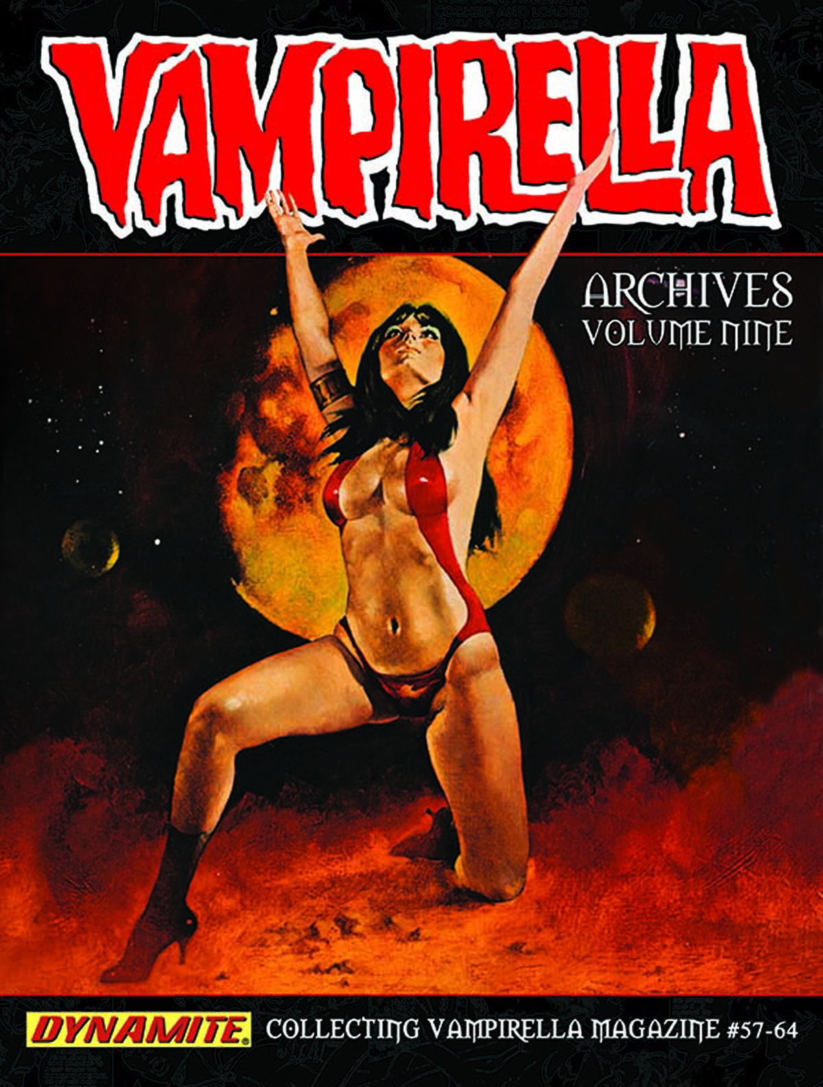 VAMPIRELLA ARCHIVES HC VOL 09