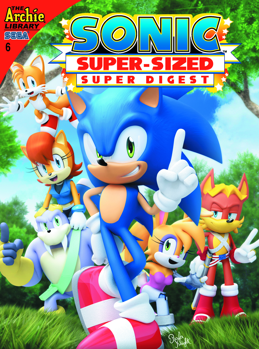 SONIC SUPER SIZED SUPER DIGEST #6