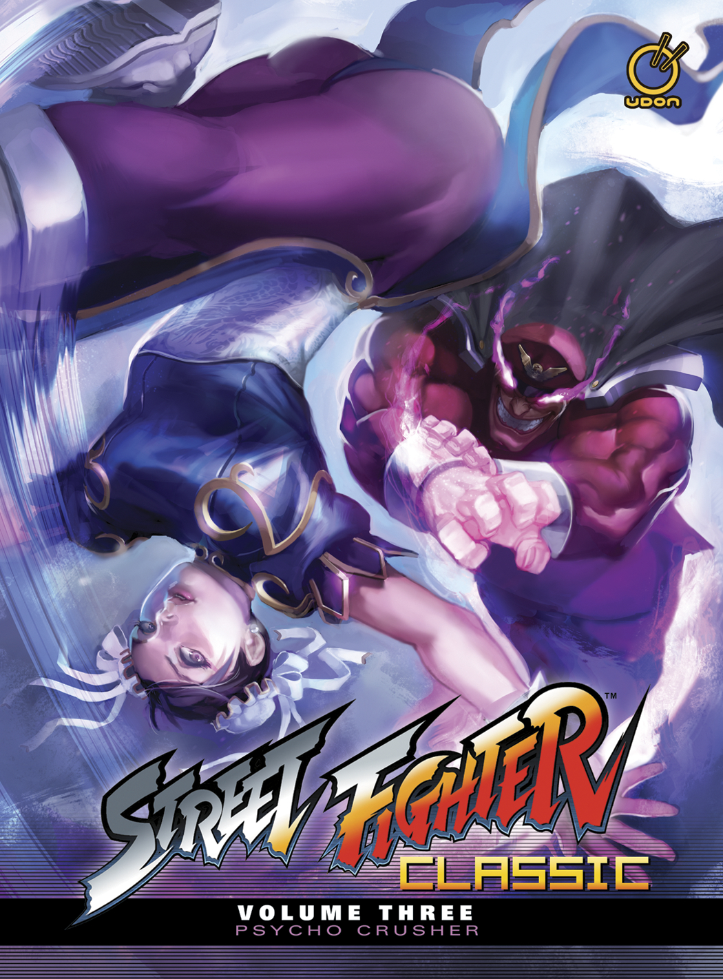 STREET FIGHTER CLASSIC HC VOL 03 PSYCHO CRUSHER