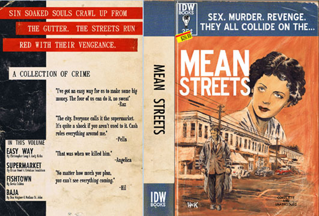 MEAN STREETS CRIME ANTHOLOGY GN
