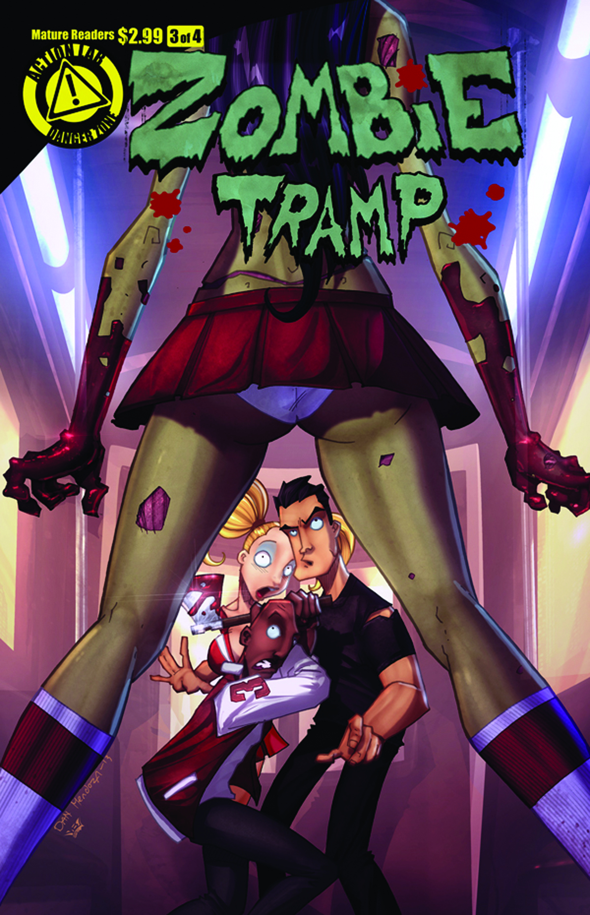 ZOMBIE TRAMP VOL 2 #3 (OF 4) MAIN COVERS