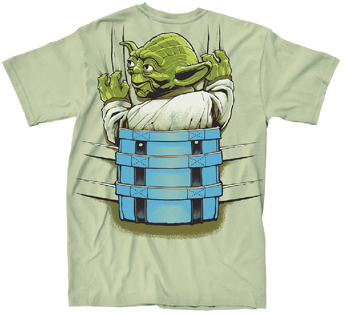 STAR WARS YODA BACKPACK PX SAND T/S SM