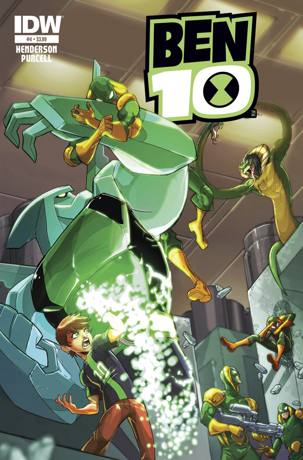 BEN 10 #4 SUBSCRIPTION VAR