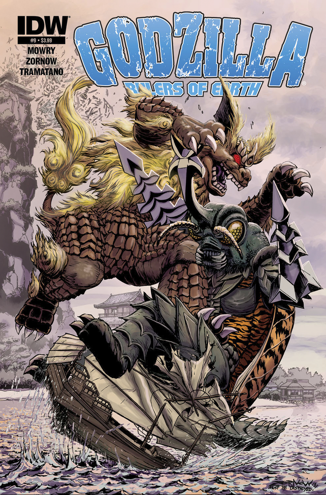 GODZILLA RULERS OF THE EARTH #9