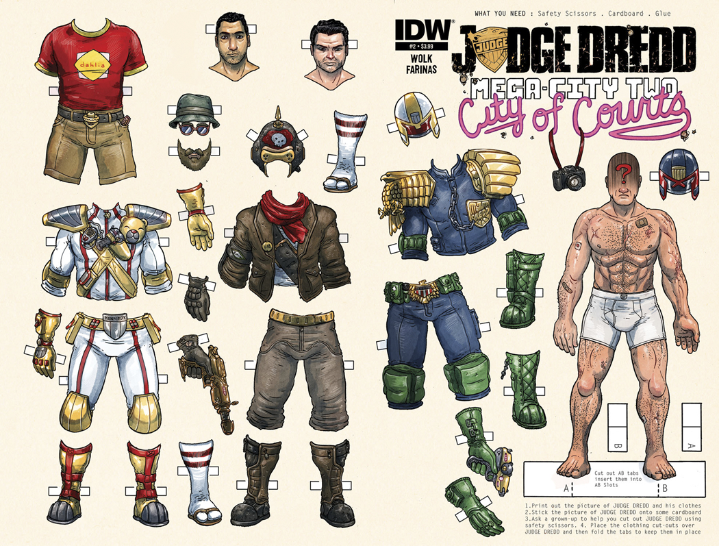 JUDGE DREDD MEGA CITY TWO #2