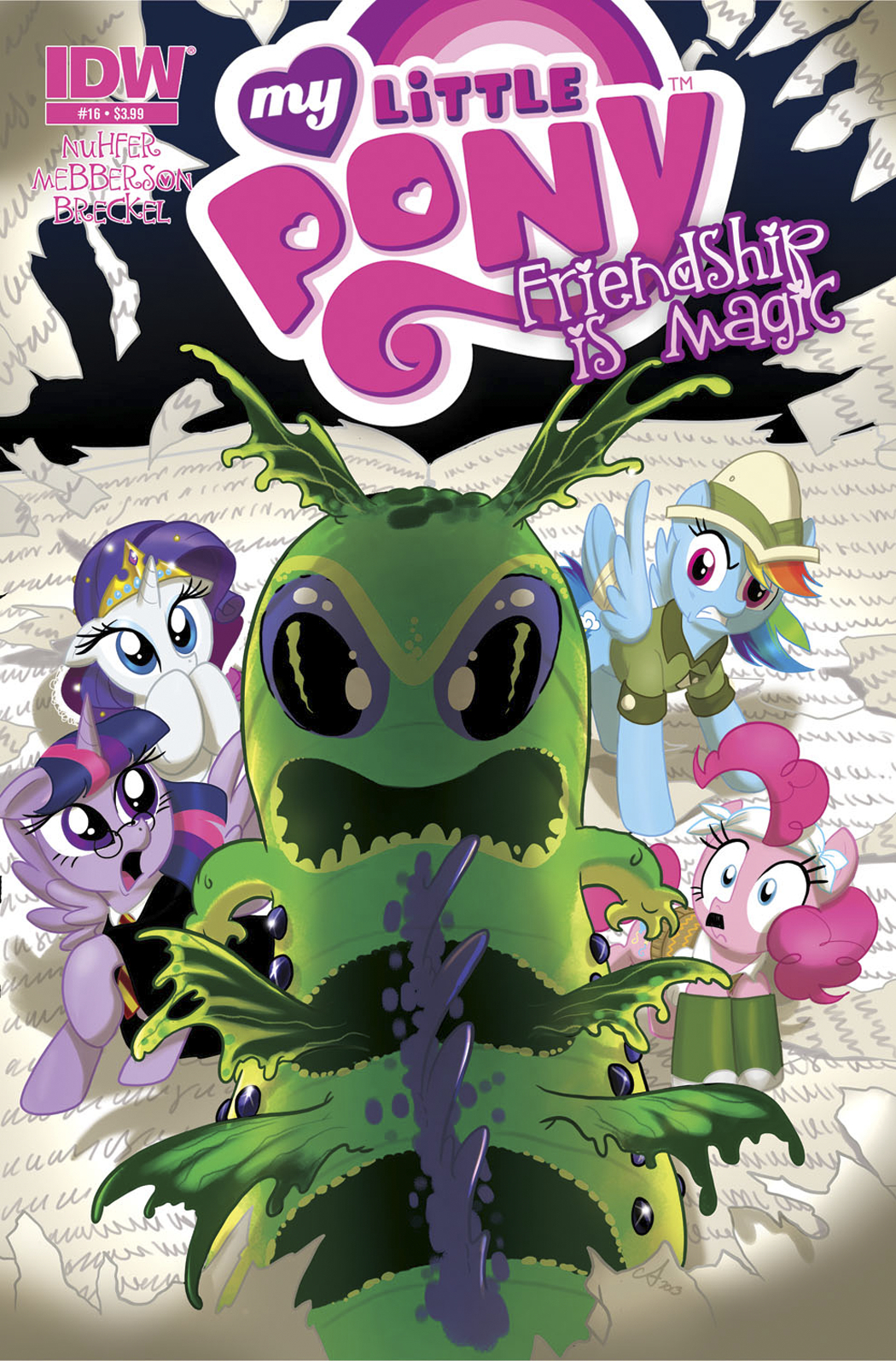 MY LITTLE PONY FRIENDSHIP IS MAGIC #16