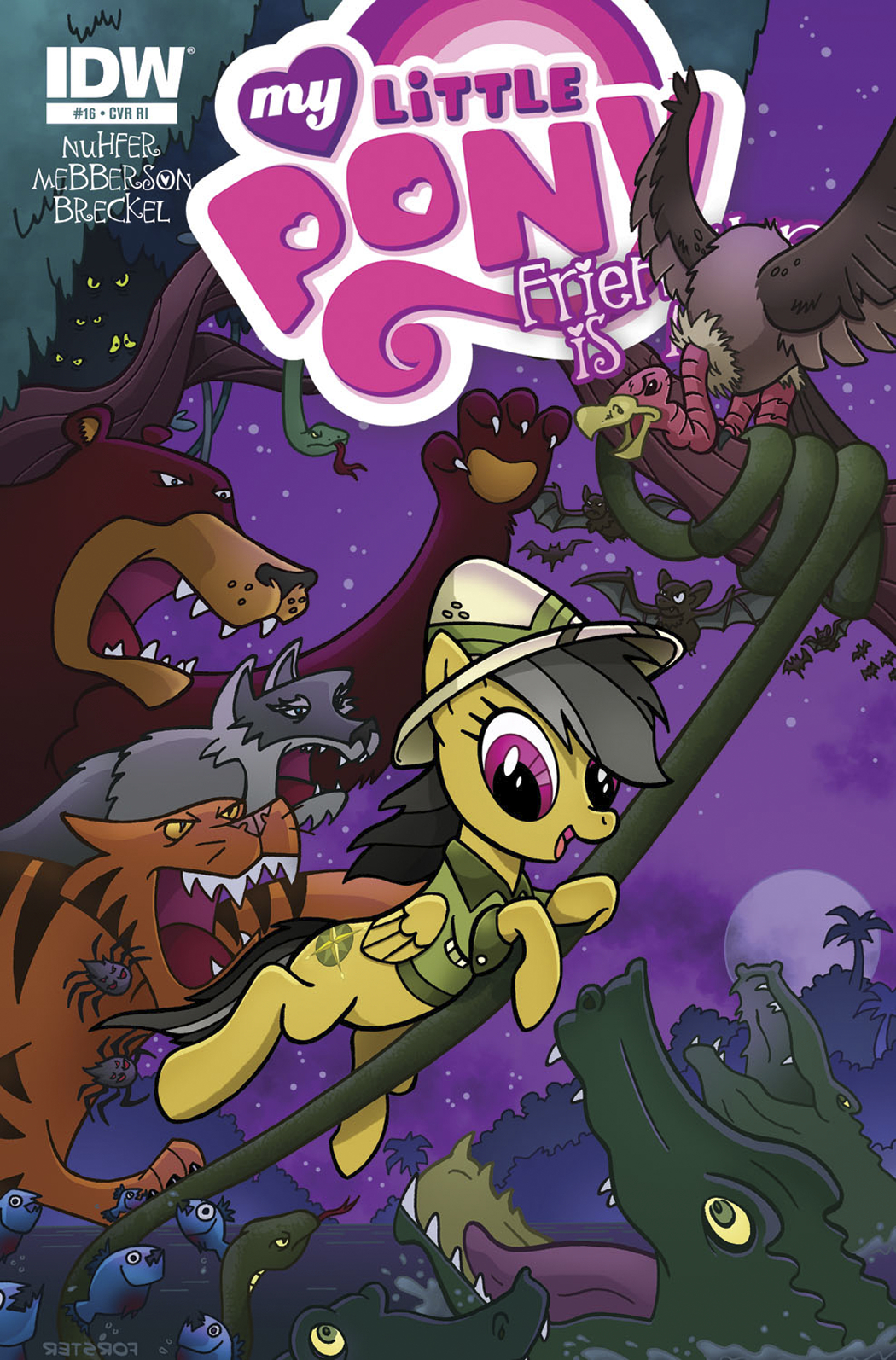 MY LITTLE PONY FRIENDSHIP IS MAGIC #16 FREE 10 COPY INCV