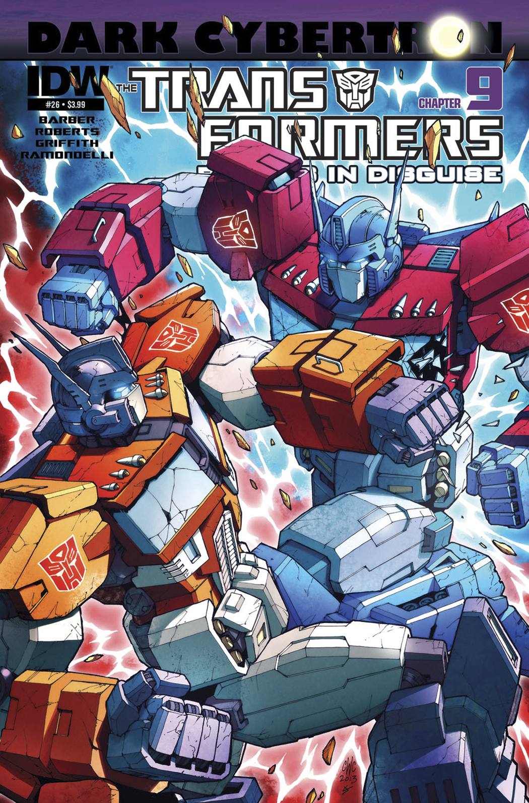 TRANSFORMERS ROBOTS IN DISGUISE #26 SUBSCRIPTION VAR