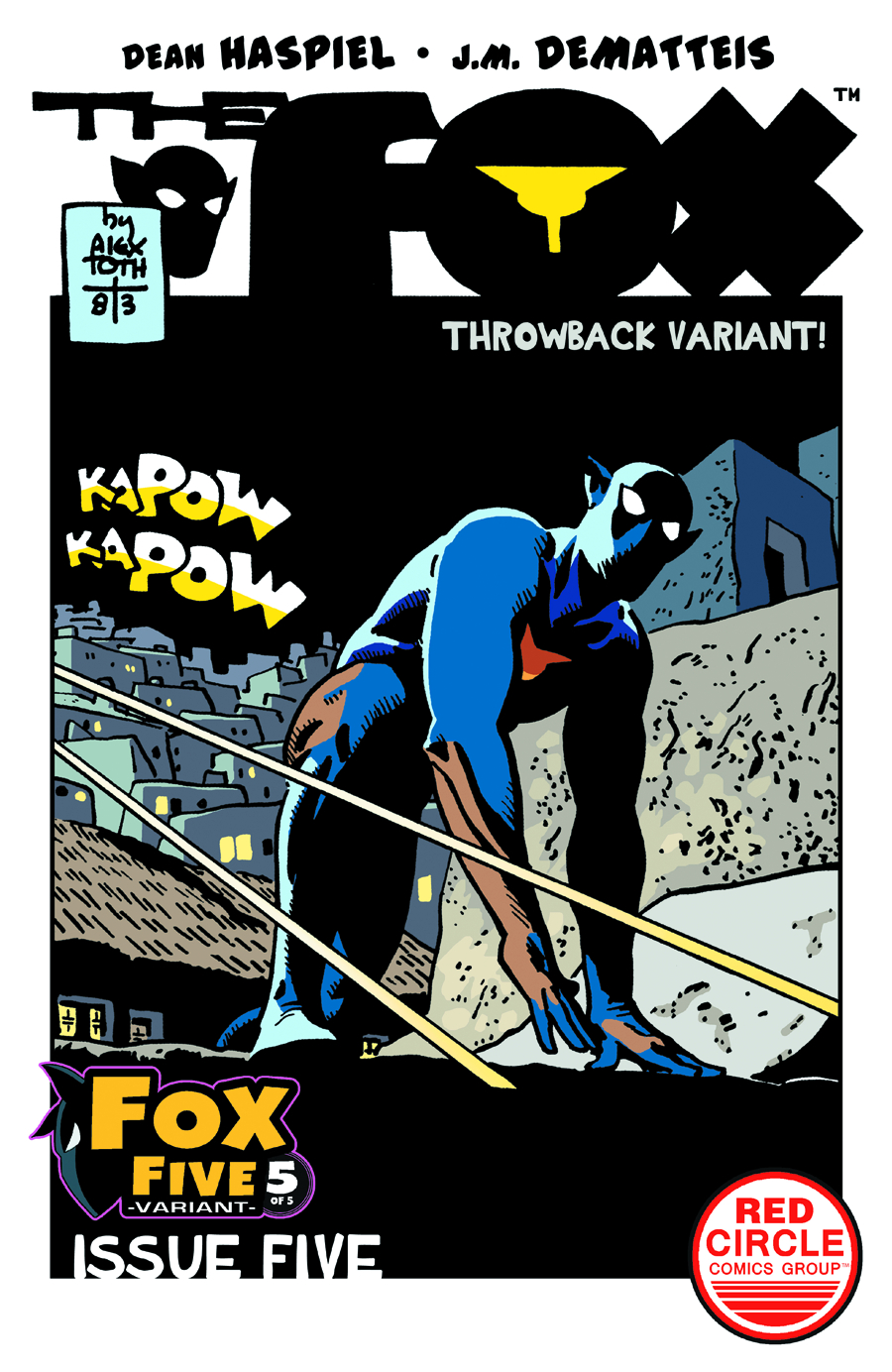 FOX #5 TOTH THROWBACK VAR CVR