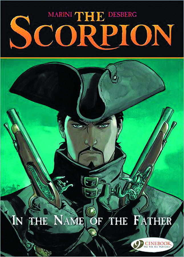 SCORPION GN VOL 05 IN NAME OF FATHER