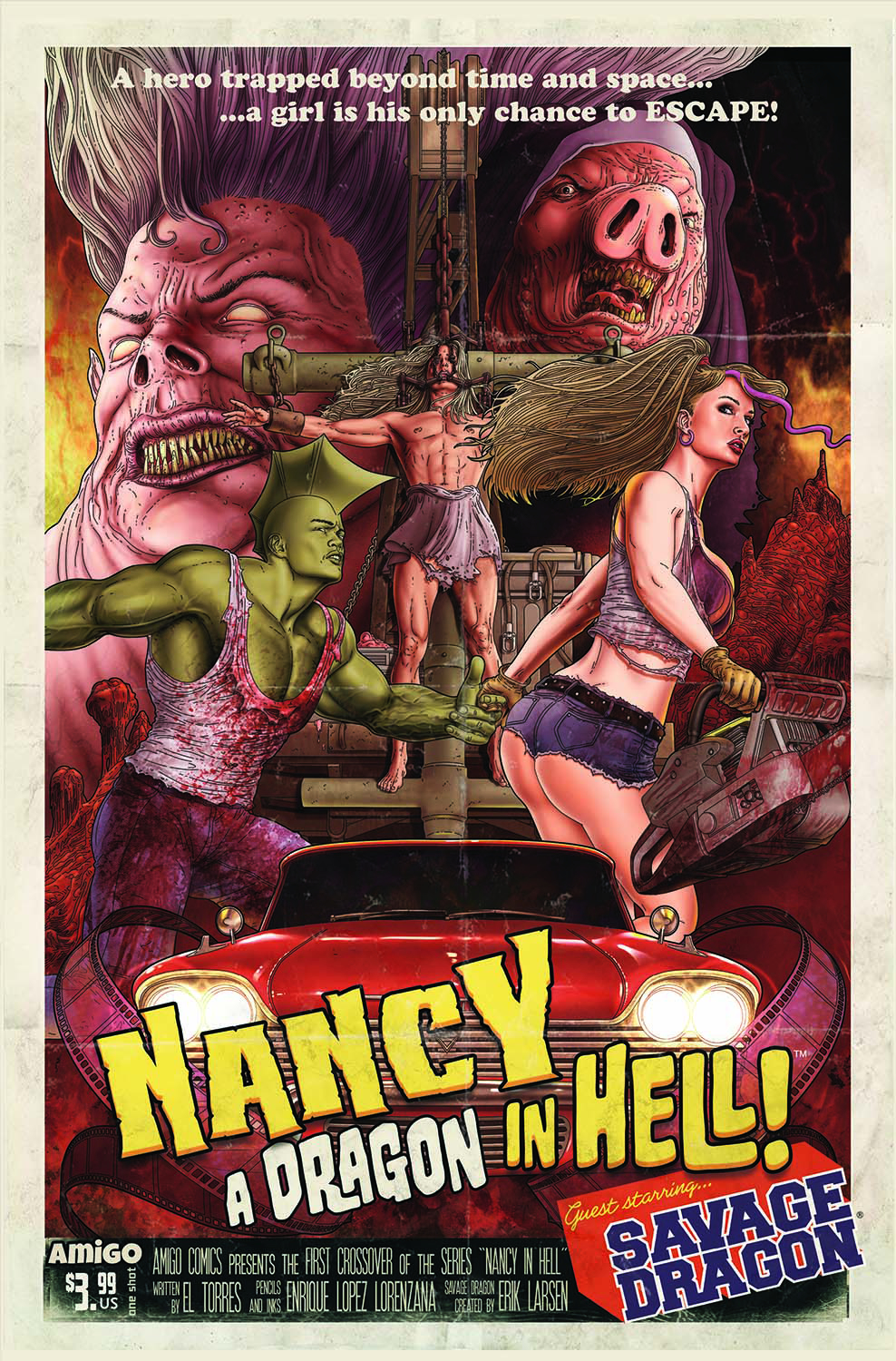 NANCY DRAGON IN HELL ONE SHOT