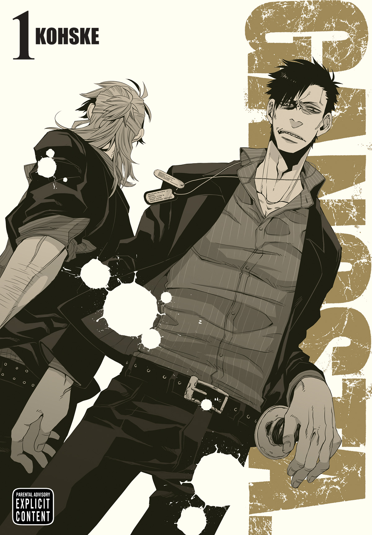 GANGSTA GN VOL 01
