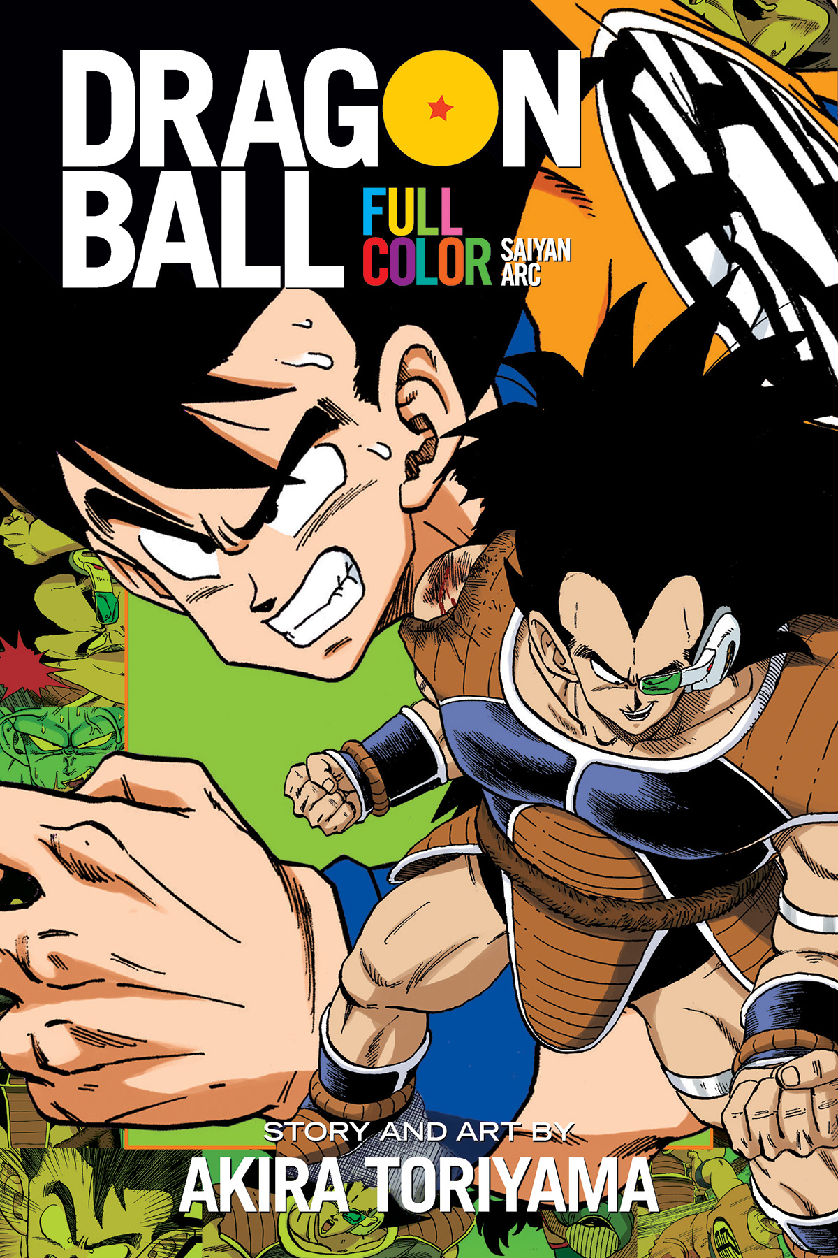 DRAGON BALL FULL COLOR SAIYAN ARC TP VOL 01