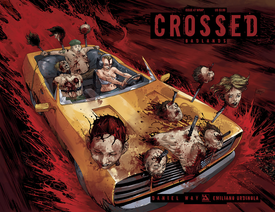 CROSSED BADLANDS #47 WRAP CVR