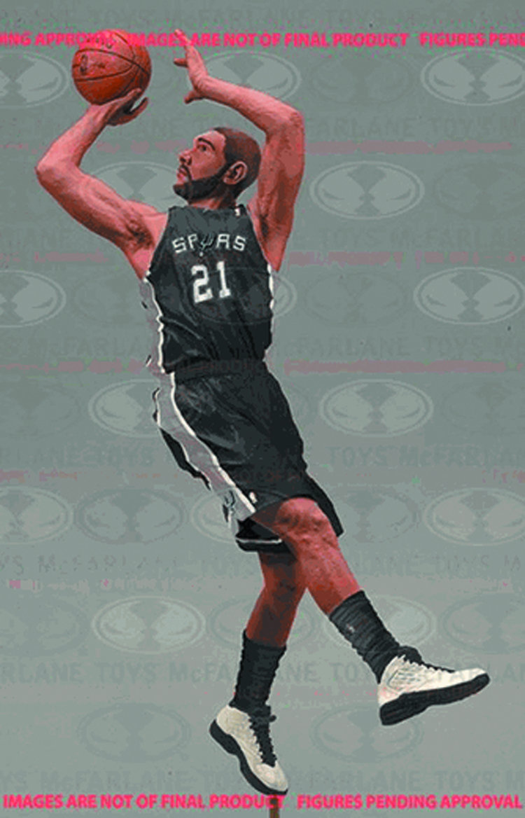 TMP NBA SERIES 24 TIM DUNCAN AF CS