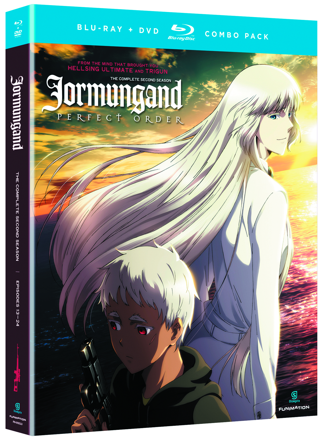 JORMUNGAND BD + DVD SEA 02