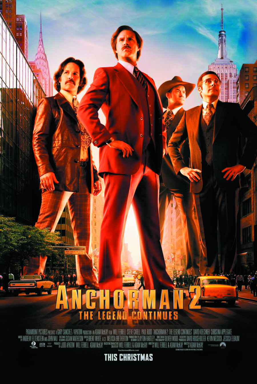 ANCHORMAN 2 THE LEGEND CONTINUES BD + DVD
