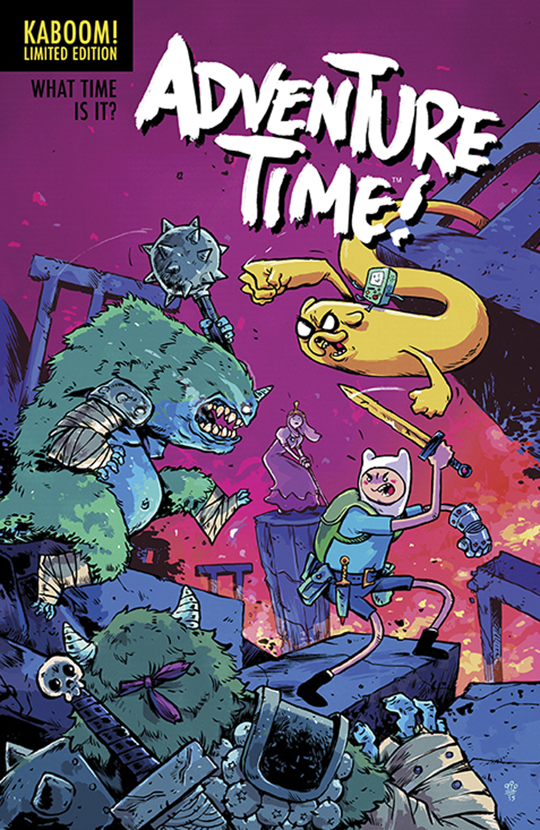 ADVENTURE TIME #25 15 COPY INCV DIALYNAS VAR
