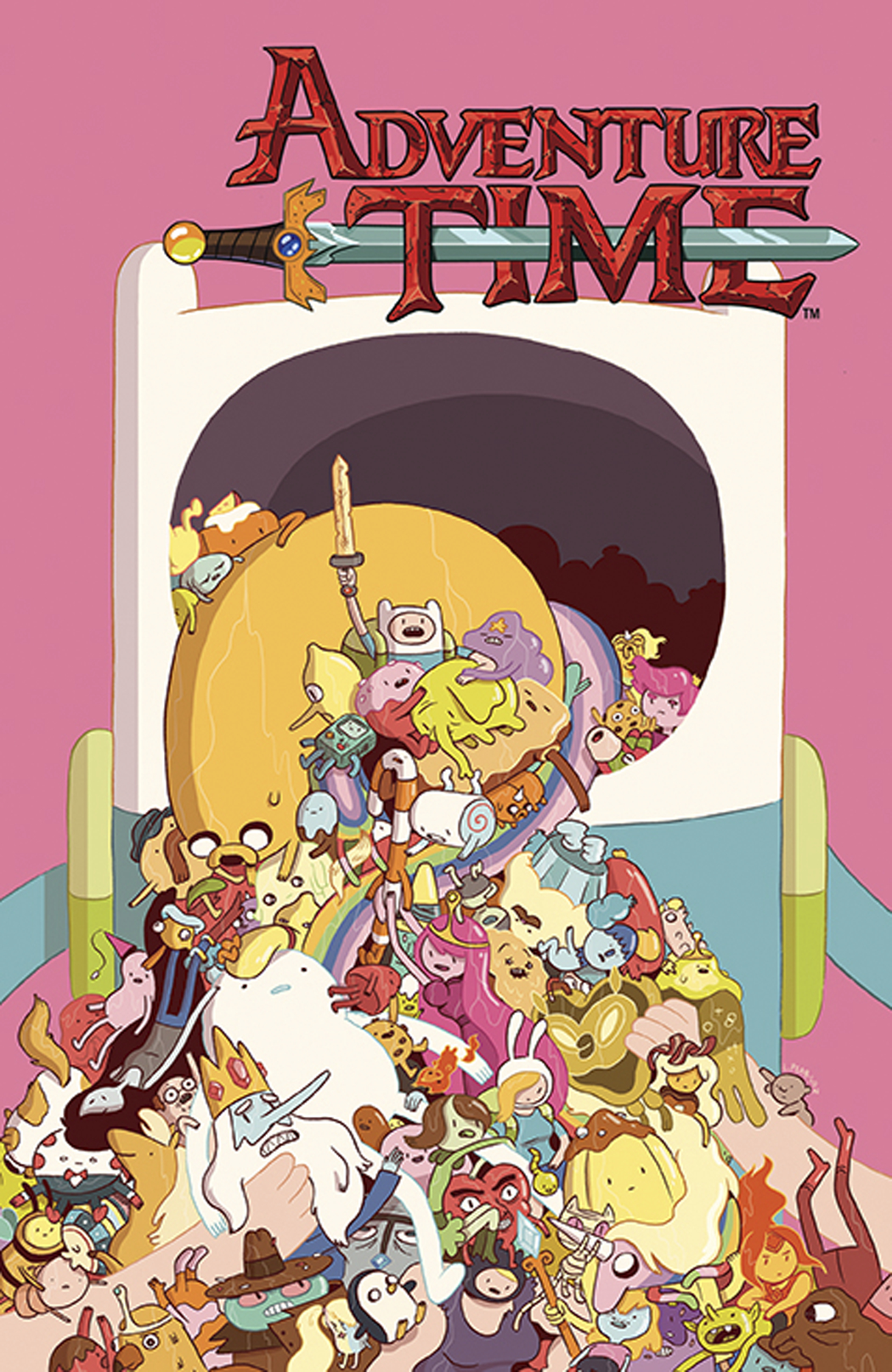 ADVENTURE TIME #25 MAIN CVRS
