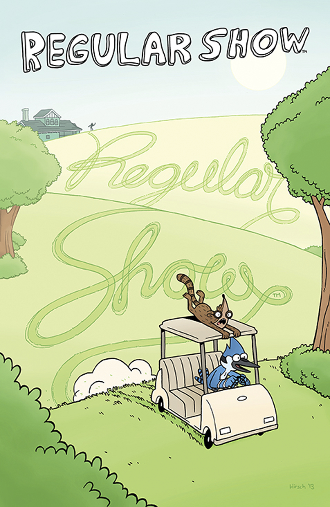REGULAR SHOW #11 MAIN CVRS