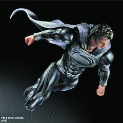 NYCC 2013 MAN OF STEEL SUPERMAN PLAY ARTS KAI BLK VER