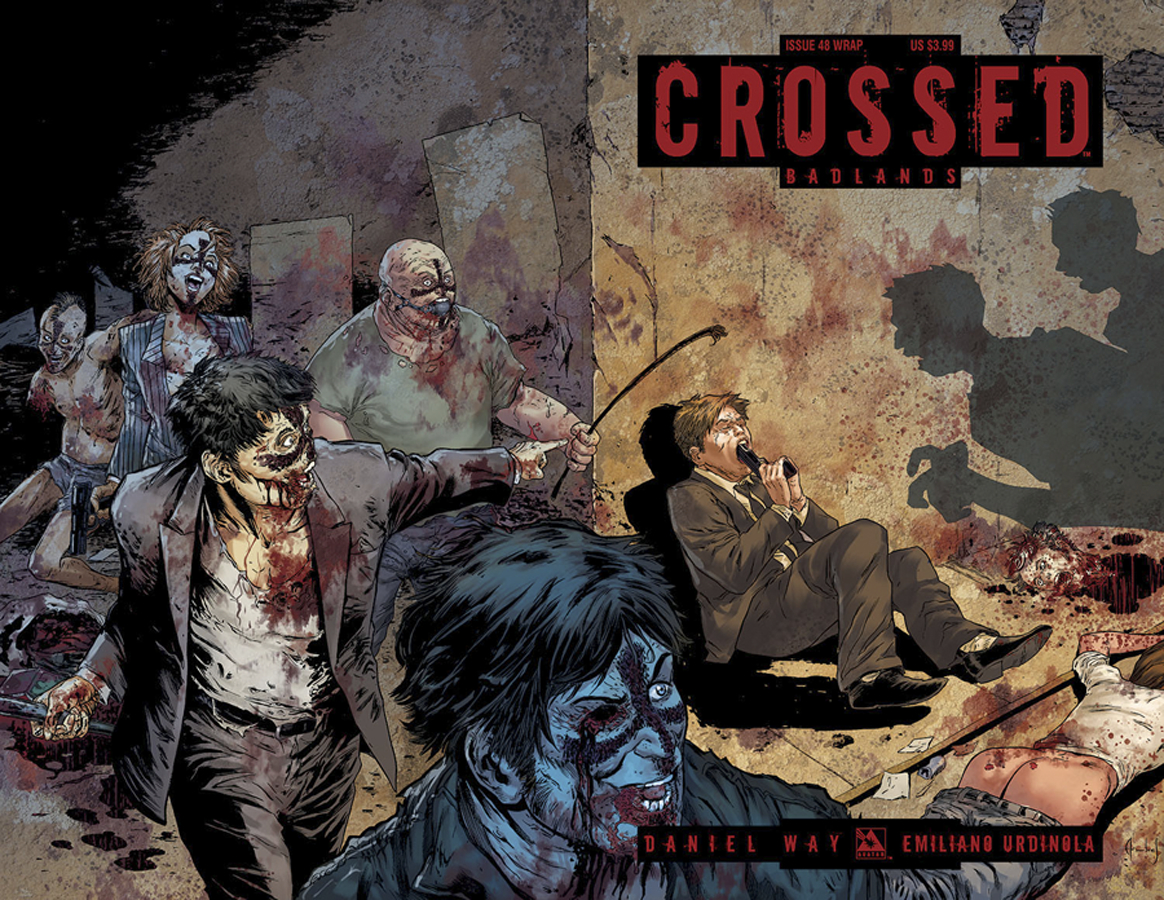 CROSSED BADLANDS #48 WRAP CVR