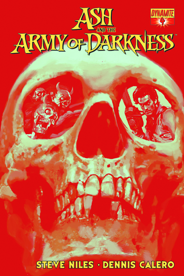 ASH & THE ARMY OF DARKNESS #4 CALERO SUBSCRIPTION VAR