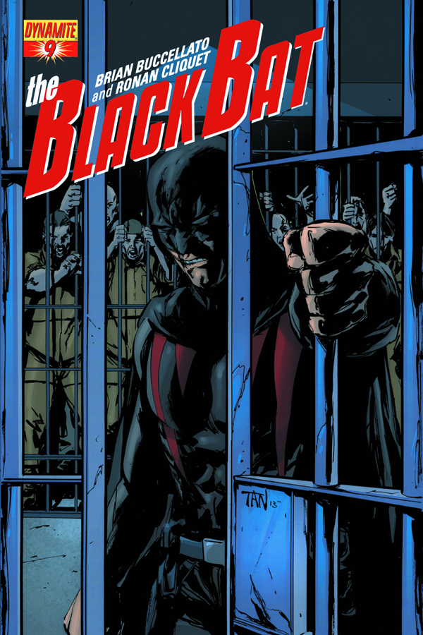 BLACK BAT #9 TAN SUBSCRIPTION CVR