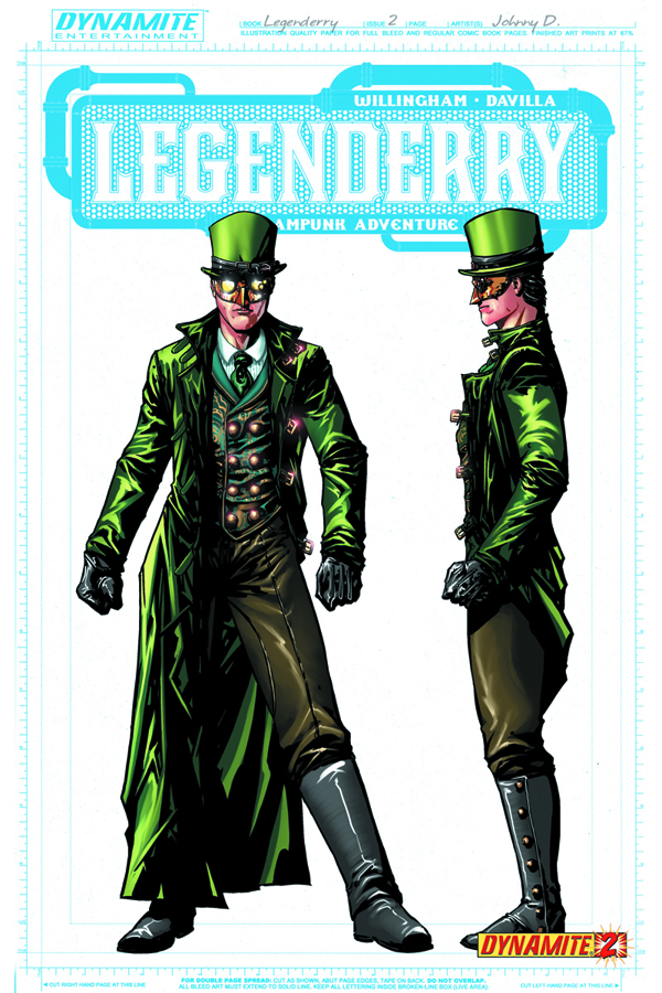 LEGENDERRY A STEAMPUNK ADV #2 (OF 7) 25 CPY CONCEPT INCV