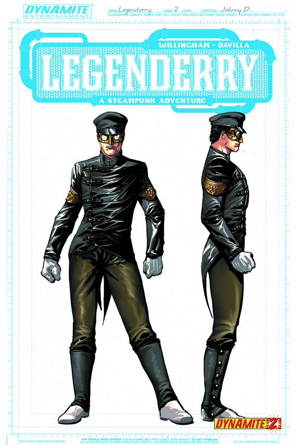 LEGENDERRY A STEAMPUNK ADV #2 (OF 7) 50 CPY CONCEPT INCV