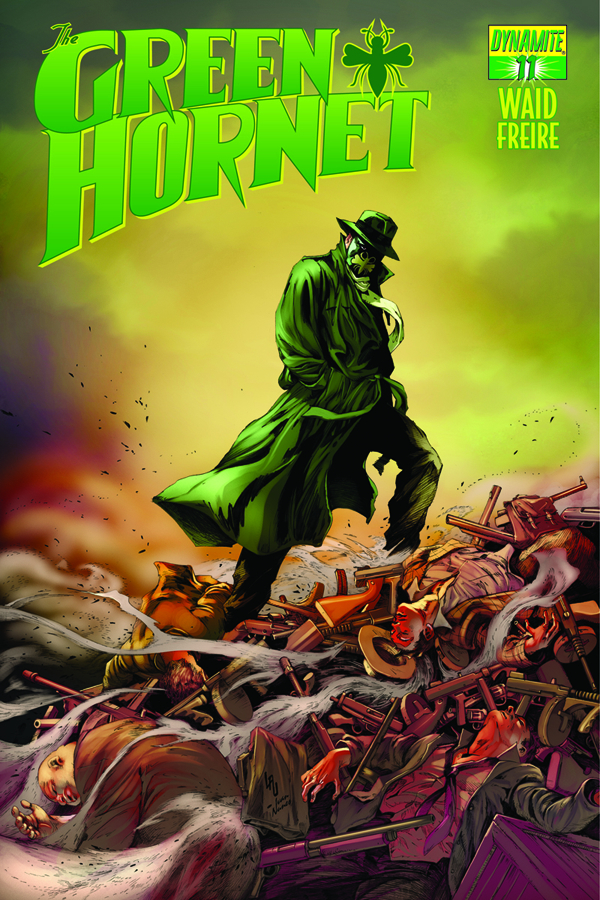 MARK WAID GREEN HORNET #11 LAU SUBCRIPTION VARIANT