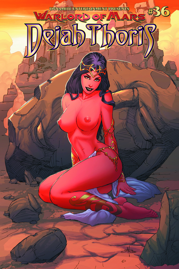 WARLORD OF MARS DEJAH THORIS #36 25 COPY RUBI RISQUE INCV
