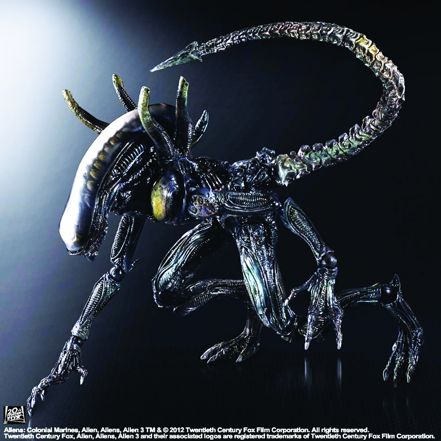 ALIENS COLONIAL MARINES PLAY ARTS KAI LURKER AF