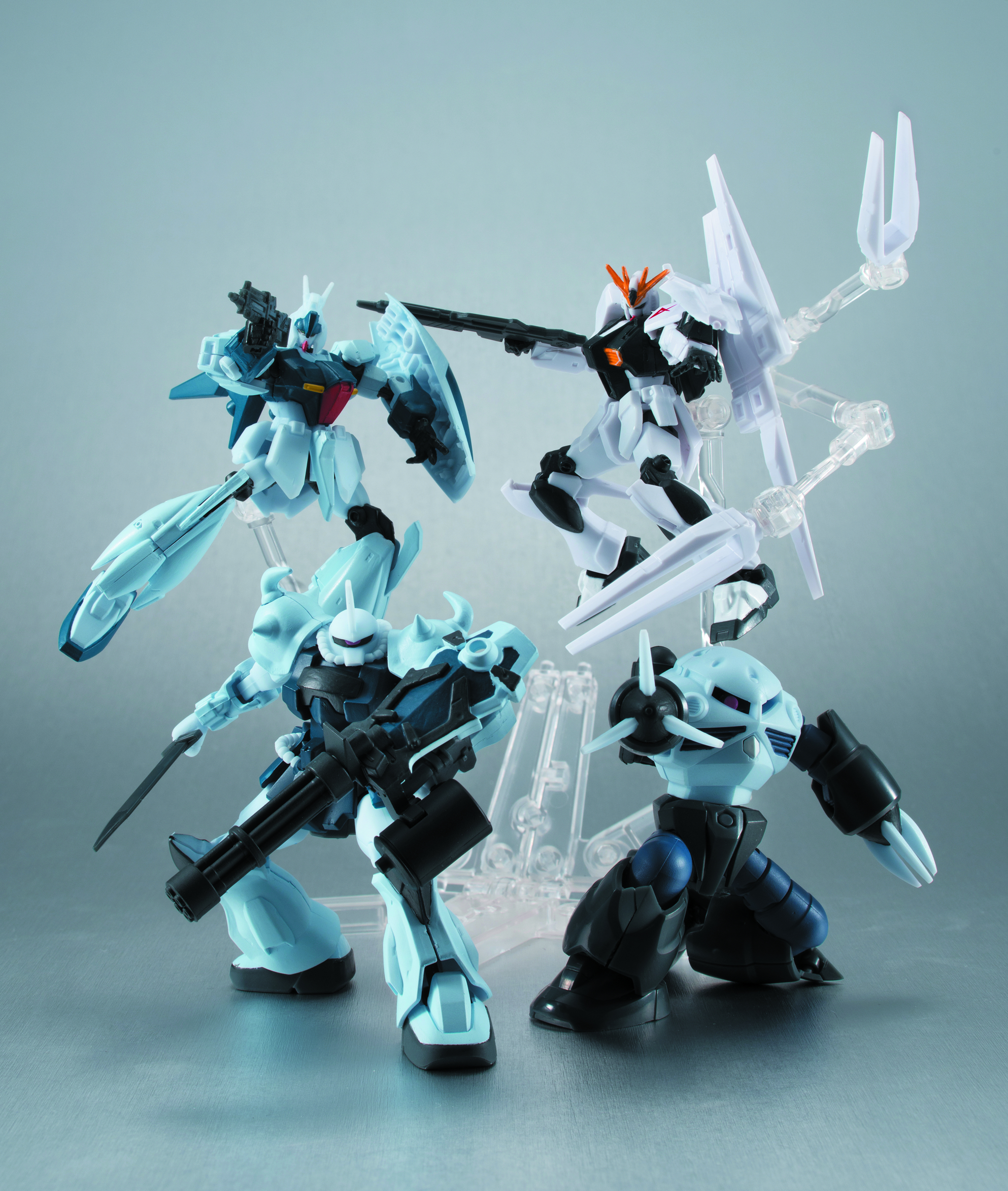 MSG GUNDAM ASSAULT KINGDOM 4 TRAD FIG 10PC ASST