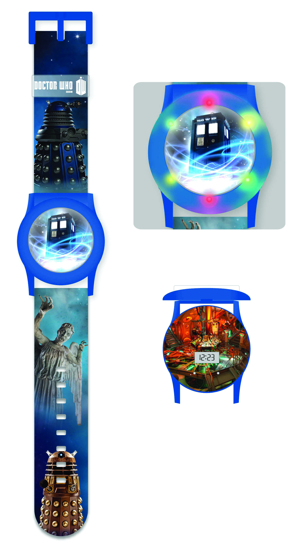 DOCTOR WHO FLASHING LCD WATCH