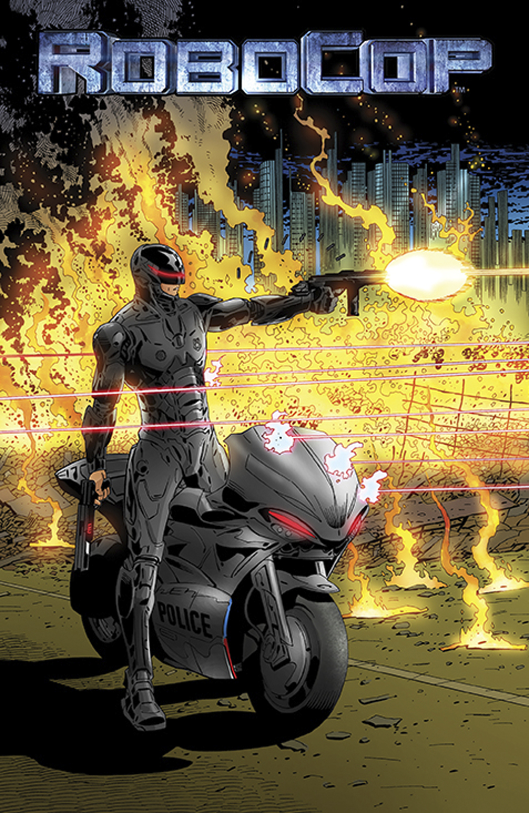 ROBOCOP TO LIVE AND DIE IN DETROIT ONE SHOT