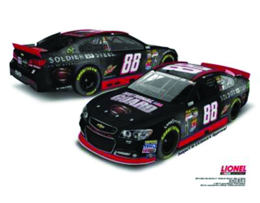 NASCAR EARNHARDT JR SOLDIER OF STEEL 1/24 DIE-CAST