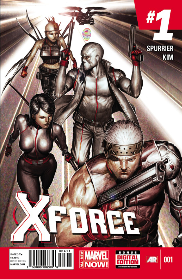 X-FORCE #1 ANMN