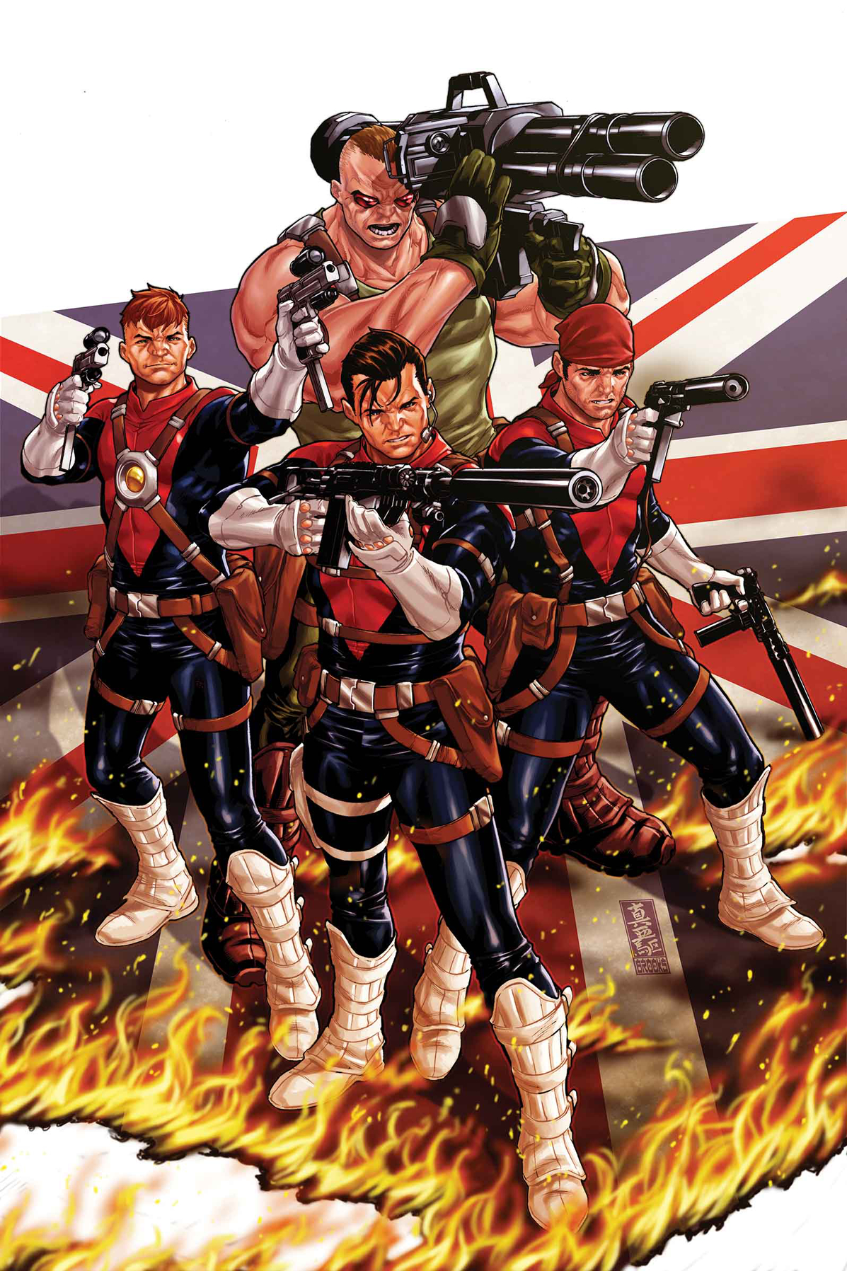 REVOLUTIONARY WAR SUPERSOLDIERS #1
